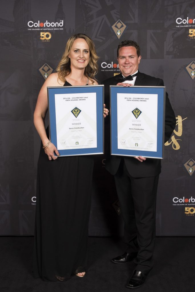 Ryan Cole Homes Perth Housing Awards November 2016